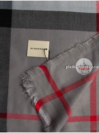 Платок Burberry серый 401