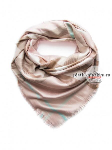 Платок Burberry бледно-розовый 409