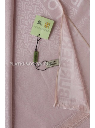 Палантин Burberry розовый 457
