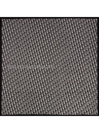 """Платок Dior шелковый черный """"Monogram"""" 3666"""