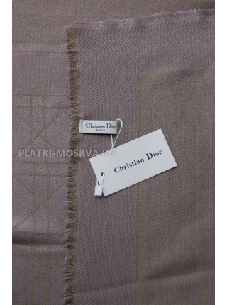 Платок Dior темно-серый с золотом 2240-100