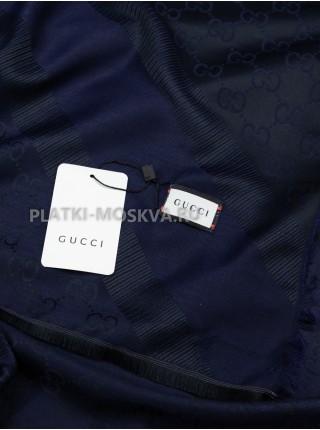 Платок Gucci кашемировый темно-синий 284