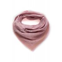"""Платок брендовый розовый с золотом """"Хамелеон"""" 1080"""