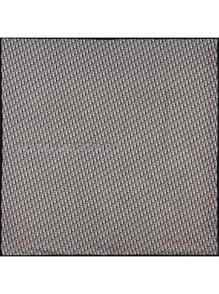 """Платок Dior шелковый черный с белым """"Monogram"""" 1884-140"""