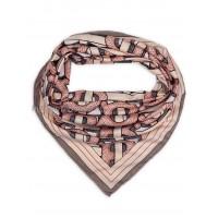 """Платок Burberry шелковый розовый """"Monogram"""" 1802-90"""