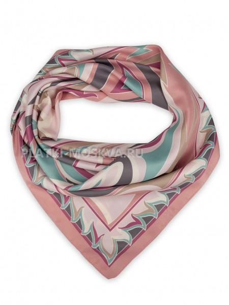 Платок Emilio Pucci шелковый розовый 3692
