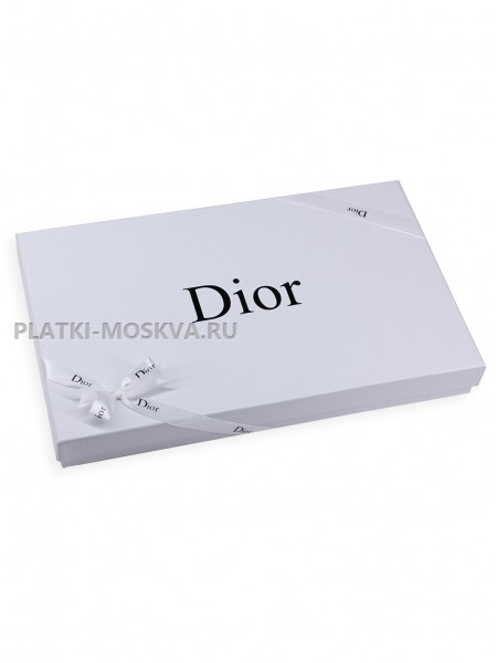 Подарочная коробка Dior белая