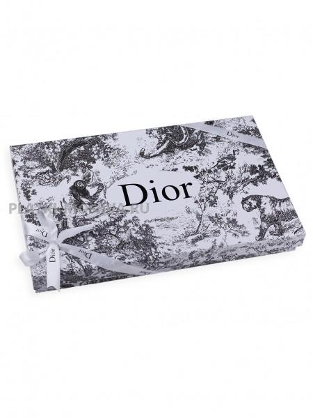 Подарочная коробка Dior бело-серая