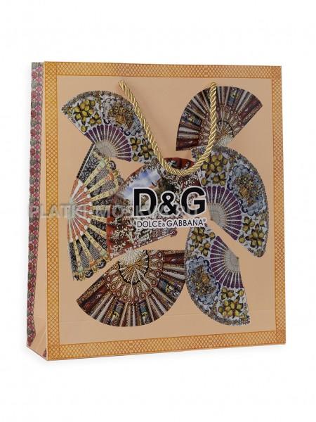 Фирменный пакет Dolce Gabbana квадратный