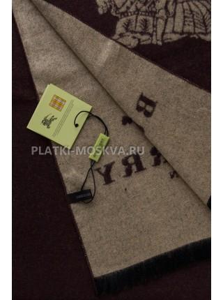 Шарф мужской Burberry кашемировый коричневый 3405-1