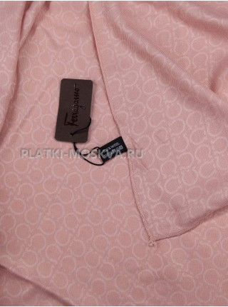 Палантин Salvatore Ferragamo розовый 583