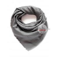 Платок Dior серый с серебром 650
