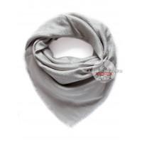 Платок Gucci серый с серебром 227