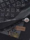 Платок Louis Vuitton черный с серебром 159