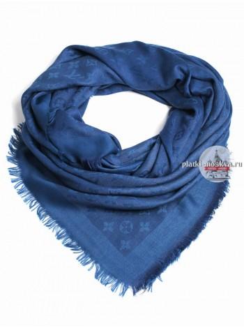 Платок Louis Vuitton синий 142
