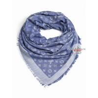 Платок Louis Vuitton светло-синий джинсовый 137
