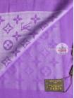 Платок Louis Vuitton фиолетовый с серебром 155
