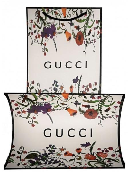 Подарочный конверт с пакетом Gucci белый