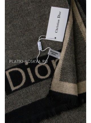 Шарф мужской Dior кашемировый бежевый 3445